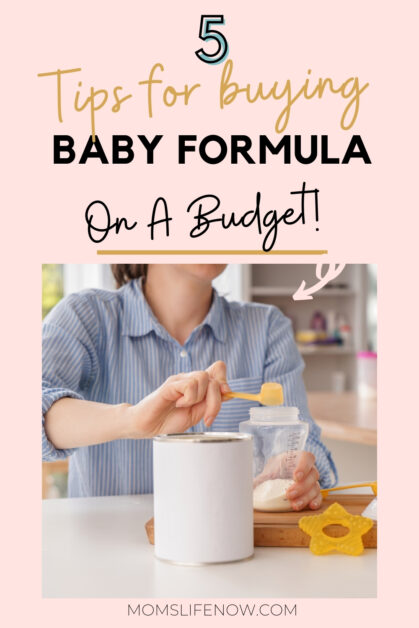 To help you find the bargains, we have gathered some foolproof and easy hacks for buying baby formula (without breaking the bank).